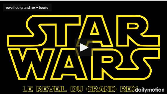 Capture reveil du grand rex